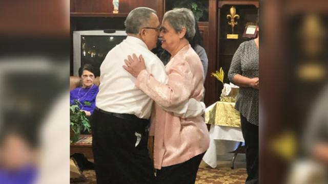 All it took was a single dance for two widowed seniors at living facility to fall in love