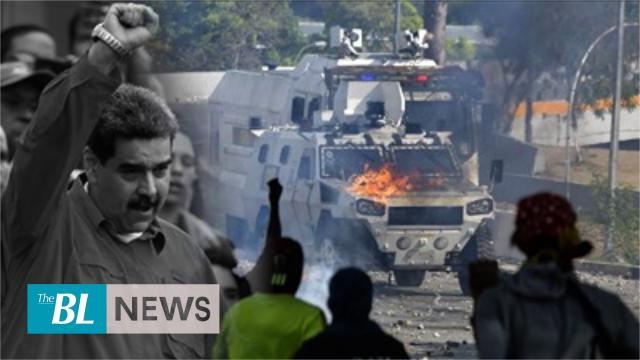Maduro&#039s brutal repression against opposition demonstrations in Venezuela