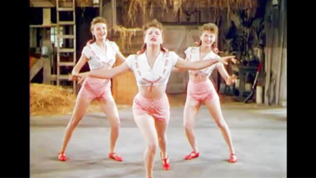 3 women sing about potato salad Seconds later, their bodies move
