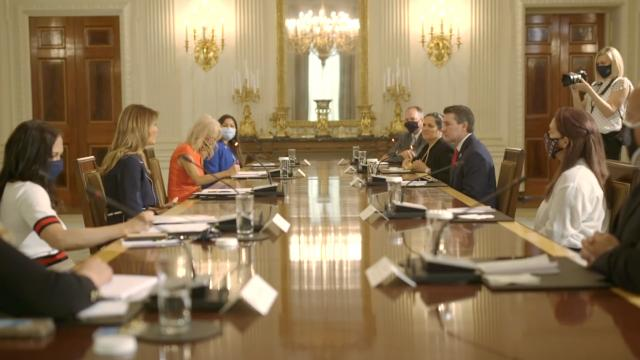 The First Lady's briefing with the presidential task force on protecting native American children