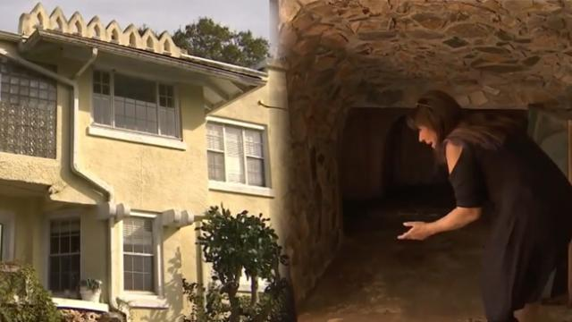Family moves into house built in 1925 and discovers secret rooms hidden under the floors