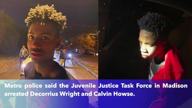 2 of the 4 teens who escaped from a Nashville detention center have been found