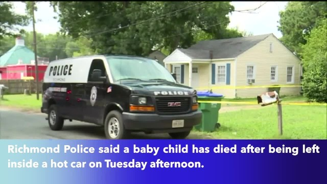 10-month-old girl dies after being left in hot car outside Va. grocery store