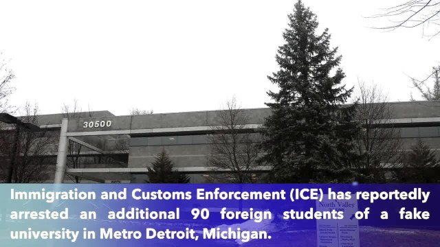 ICE arrests 90 additional foreign students at fake university in Metro Detroit, Michigan