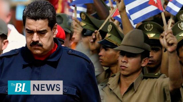 Maduro acknowledges Cuban military interference