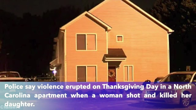 Charlotte woman charged with shooting, killing daughter on Thanksgiving