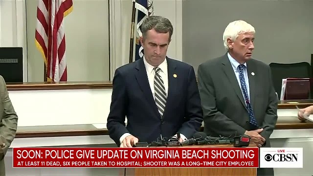 Virginia officials' update on deadly shooting...