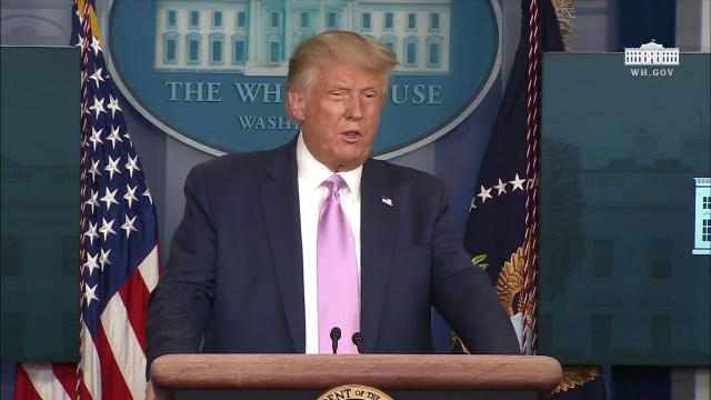 08/19/20 President Trump holds a news conference