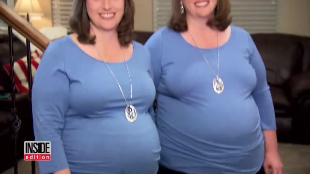 Identical twin sisters get pregnant at same time then doctors hit them with curveball