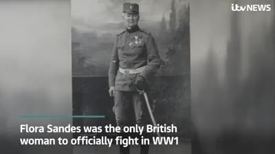 Meet the Woman the World Forgot: Only Female To Officially Fight in World War I