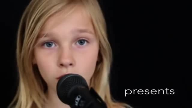 11-Year-old girl sings haunting cover of 'Sound of Silence' that sending chills down everyone's spin