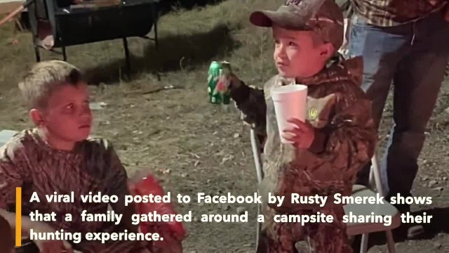 "Little boy says he does not want a wife because she might tell him, ""You can't go hunting"""