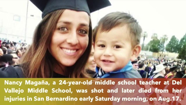 Middle school teacher is fatally shot while sitting in truck with son in San Bernardino, California