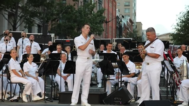 "US Navy Sailor Sings Amazing Rendition Of ""Somewhere Over The Rainbow"""