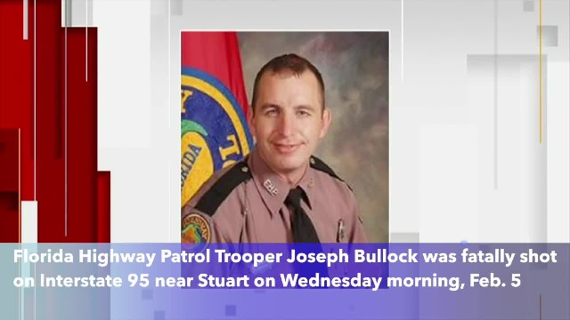 Florida Highway Patrol trooper killed in shooting on Interstate 95