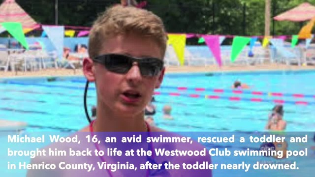 Teenage lifeguard saves drowning toddler at pool in Henrico County, Virginia