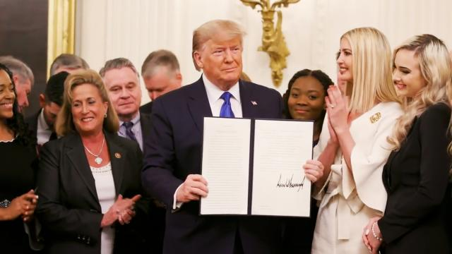 President Trump and Ivanka Trump host summit on combatting human trafficking
