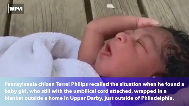 'Adorable' hours-old baby girl abandoned on porch under 93 degree heat with umbilical cord still