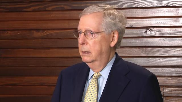 McConnell commends President Trump's transparency