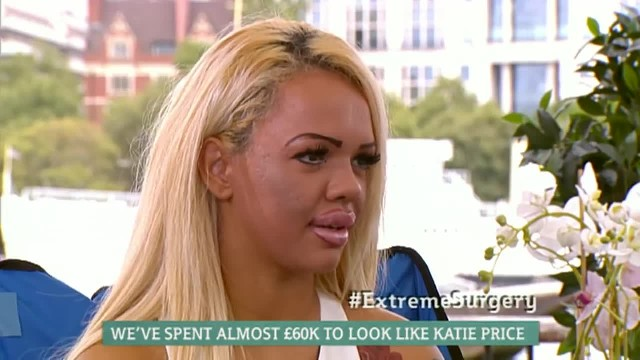 Mother and Daughter Spend £60,000 To Look Like Katie Price This Morning