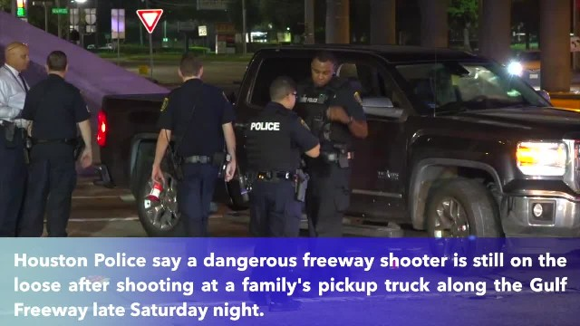 12-year-old shot while riding in family's truck along Gulf Freeway