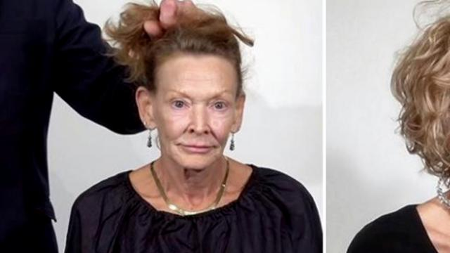 69-Year-Old Tired Of Her Worn Out Look Gets Stunning Makeover