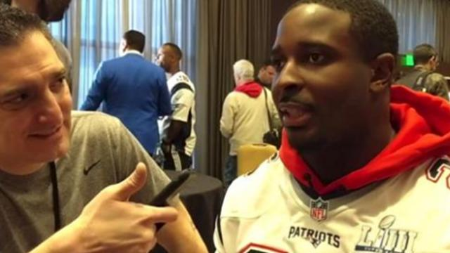 Watch: patriots star gets real at the super bowl: 'without Jesus Christ, there is none of this'