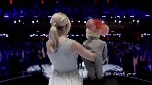 Darci Lynne- Teen Ventriloquist Sings 'O Mio Babbino Caro' - America's Got Talent- The Champions