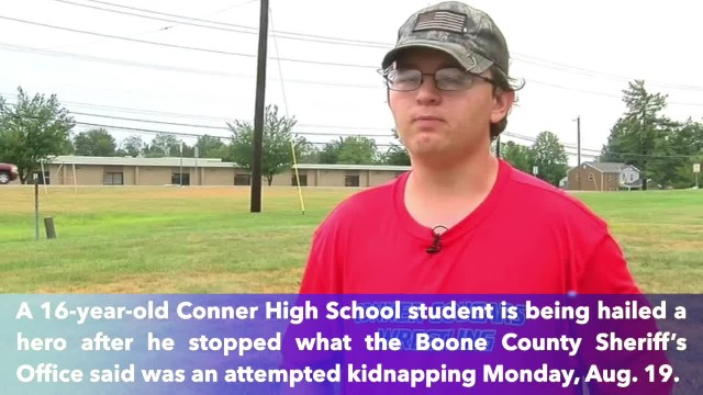High school student saved classmate from kidnapping at hands of man she met online
