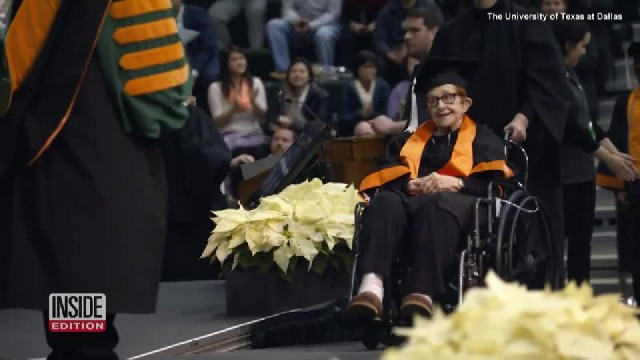 84-Year-Old Bored With Retirement Goes Back to College to Get Bachelor's Degree