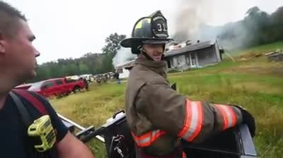 Teen With Cerebral Palsy Defies Limits To Become Hero Firefighter