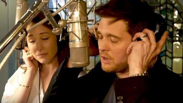 "Michael Buble finds and performs a duet with his ""Voice Crush, and the result is no less than magic"