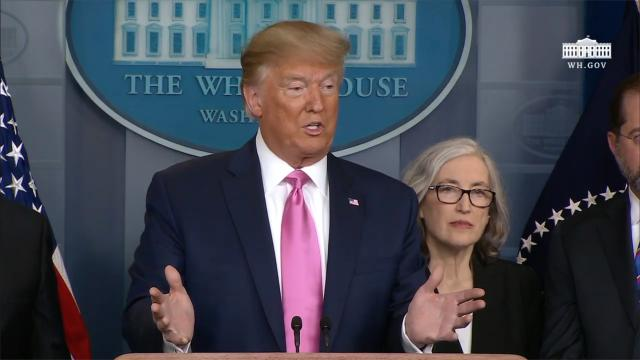 President Trump and members of the Coronavirus task force hold a news conference