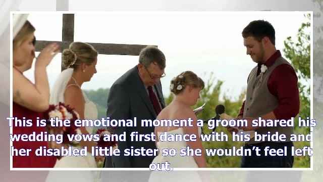 Groom exchanges vows with bride's little sister with Down syndrome