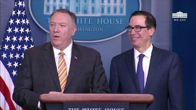 Press Briefing with Secretary Pompeo and Secretary Mnuchin