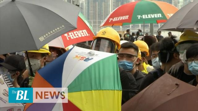 HK activists use creative strategies in protests