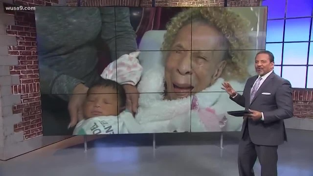 105-Year-Old Woman Celebrates Birthday By Meeting Her Great-Great-Grandchild For The First Time