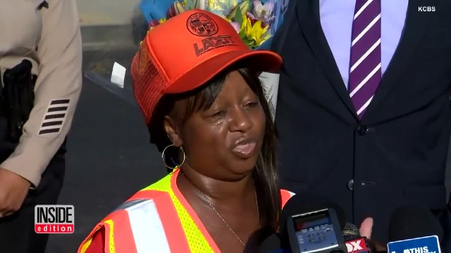 Crossing Guard Catches Kidnapper In The Act And Rescues 8-Year-Old Girl From Her Clutches