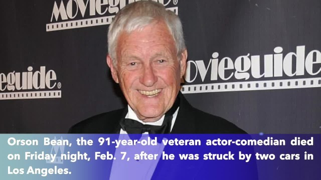 Veteran actor-comedian Orson Bean, 91, killed when struck by two cars in Los Angeles