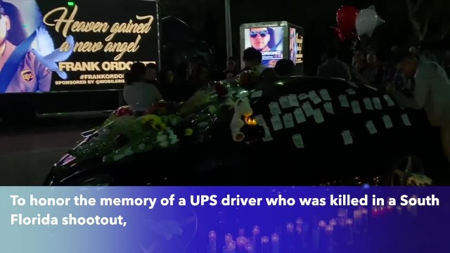 UPS drivers across nation honor fallen co-worker killed in police shootout