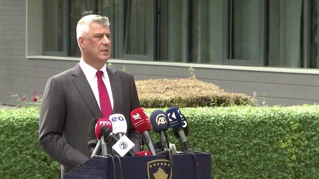 Kosovo President resigns amidst war crimes charge