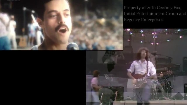 Rami Malek's Live Aid Performance In 'Bohemian Rhapsody' Is Scarily Precise