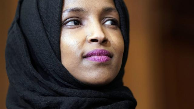 Ilhan Omar posts video claiming US is 'not very good at anything' except war