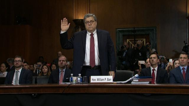 Barr sets the record straight before the Senate Judiciary Committee