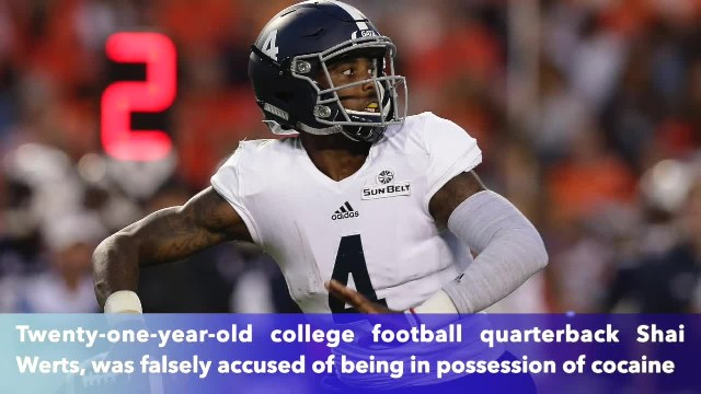 Georgia police arrested college football quarterback after mistaking bird poop for cocaine