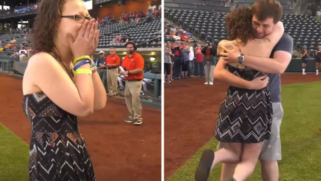 Watch the emotional moment cancer survivor meets stranger whose bone marrow saved her