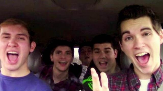 They're in a lip sync battle – but it's their song choice that