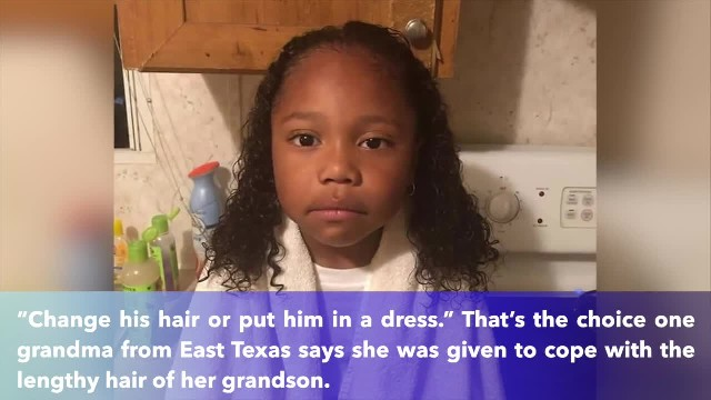 East Texas school district requests boy to cut his hair or wear a dress