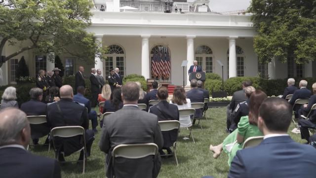 President Trump delivers remarks and signs an executive order on safe policing for safe communities