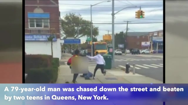 79-year-old man chased and brutally beaten by two teens in Queens